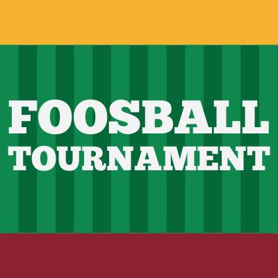 Foosball Tournament Logo