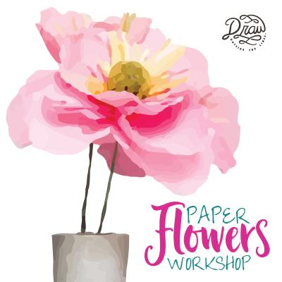 Paper Flowers Workshop Logo