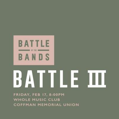 Battle of the Bands: Battle three