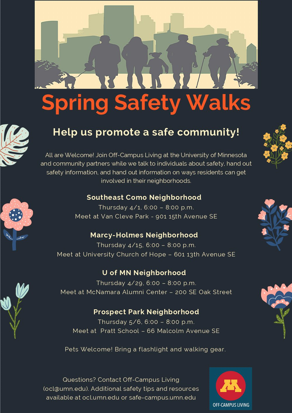 Safety Walk Poster