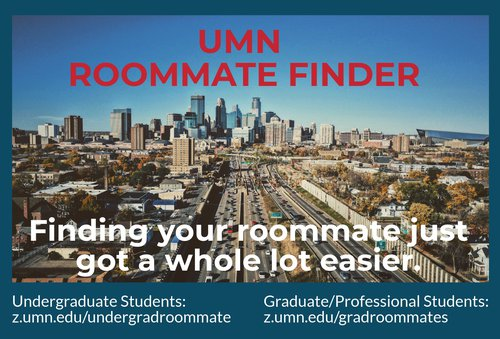 roommate finder graphic