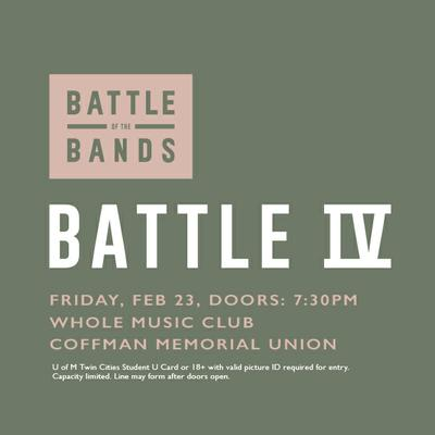 Battle of the Bands: battle 4