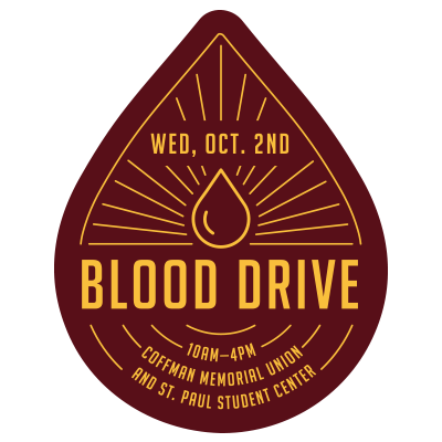 Blood Drive Event Feed Graphic