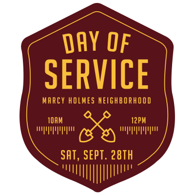 Day of Service Event Feed Graphic