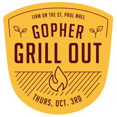 Gopher Grill Out Event Feed Graphic