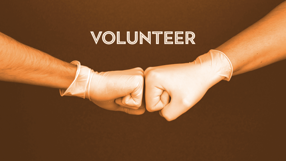 Off-Campus Virtual Events: Volunteer