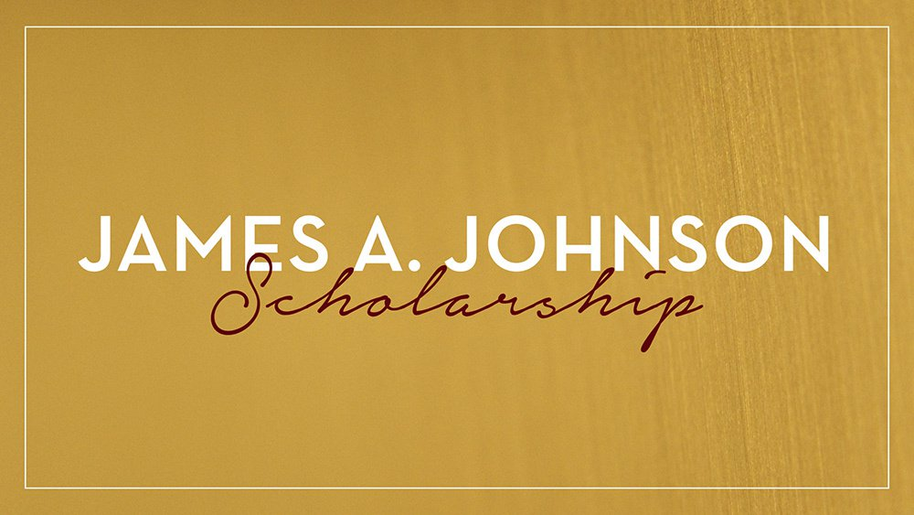 James A Johnson Scholarship