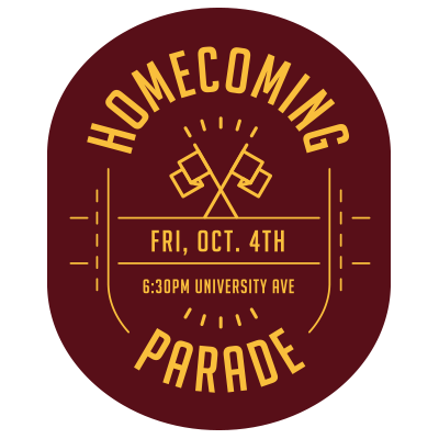 Homecoming Parade Event Feed Graphic