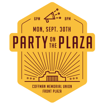 Party on the Plaza Event Feed Graphic